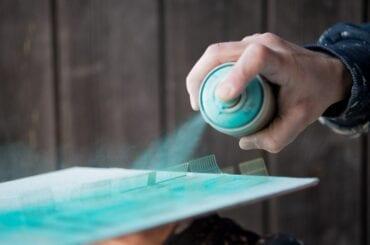 Aerosol Paint Can