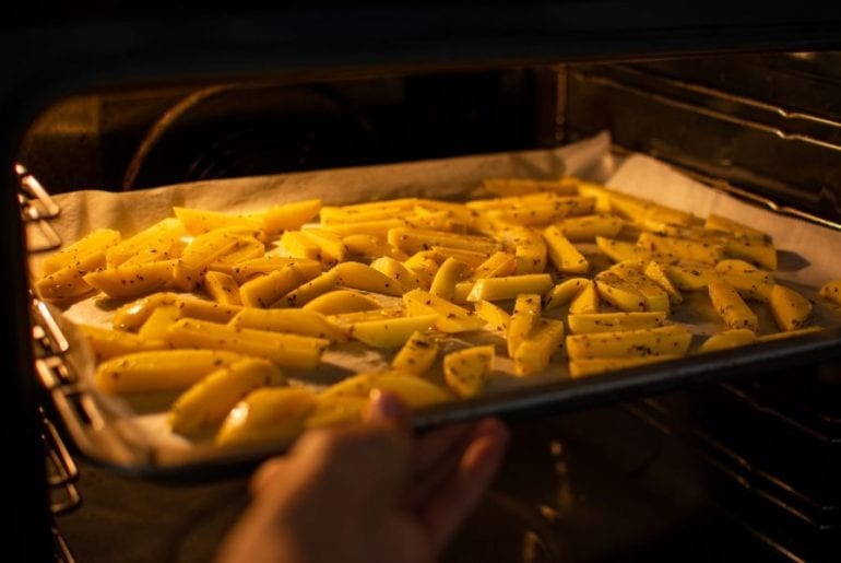Homemade Fries in the Oven