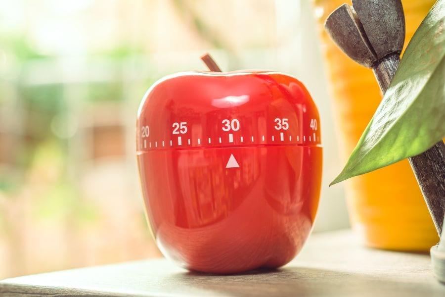 Red Cooking Timer