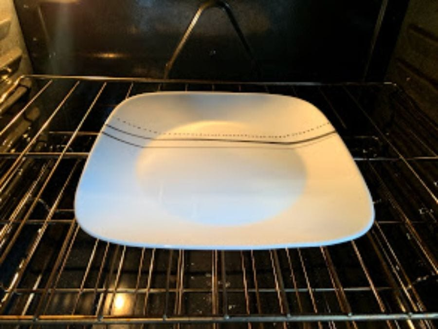 Can I Put a Plate in the Oven?