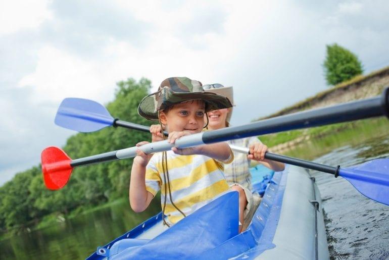 Kayaking without gnats