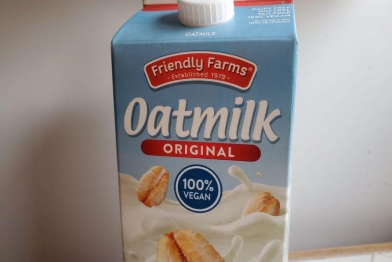 Oat Milk Store bought