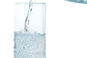 Sparkling Water Glass Mineral Water