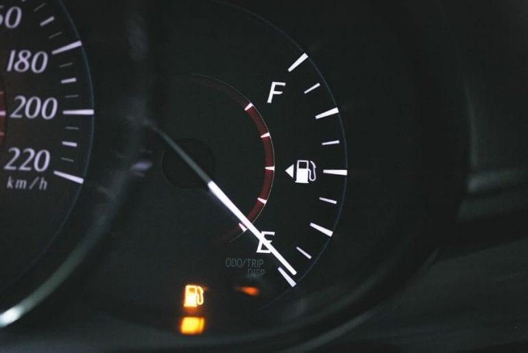 Low Fuel Gauge