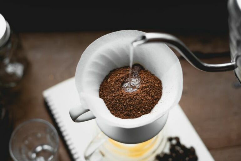 Pouring Water for Coffee