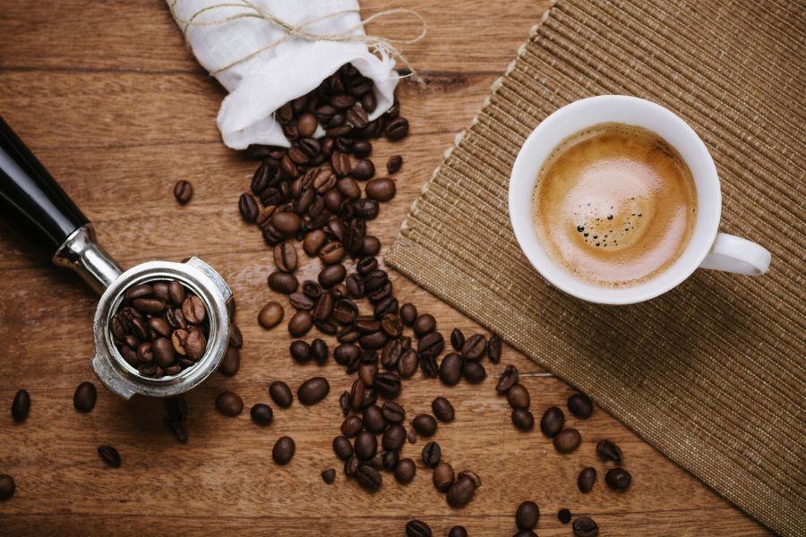 Coffee Beans and Espresso